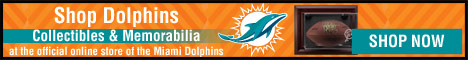Shop Collectibles and Memorabilia at the official online store of the Miami Dolphins!