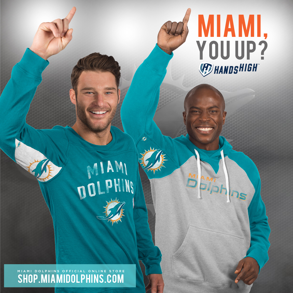 New Hands High Dolphins Gear!