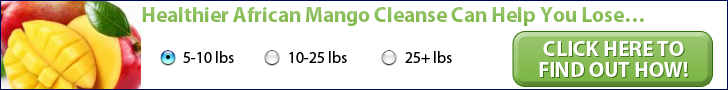 Healthier African Mango Cleanse