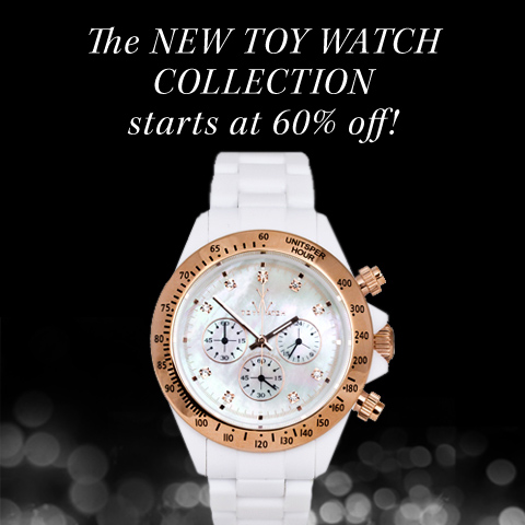 Up to 60% off the ToyWatch Collection