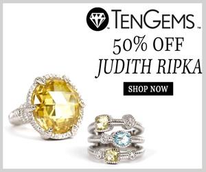 50% off Judith Ripka.