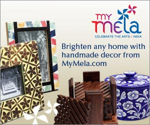 Photo frames, candle holders, home decor from MyMela