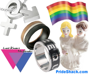 Gay Pride Items #1 (Square Banner)