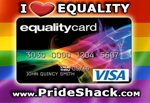 Pride Shack Equality Card Banner