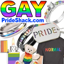 Gay Pride Shack