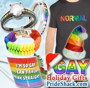 Gay Pride Shack