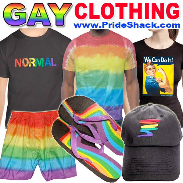 Gay Pride Apparel & Fashion