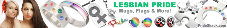Lesbian Pride Items #1 (Horizontal Banner)