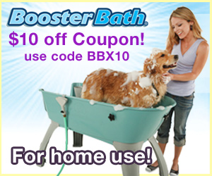 10 dollars off Booster Bath