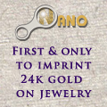 NanoStyle.com - First and Only to Imprint 24K Gold Jewelry