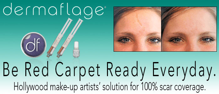 Scars VANISH instantly with Dermaflage
