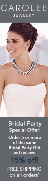 Order 5 or more of the same Bridal Party Gift and receive 15% off.
