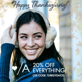 Happy Thanksgiving from Adorn!
