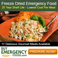 Freeze Dried Emergency Food