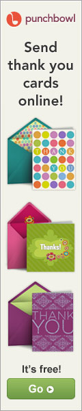 Send digital Thank You cards!
