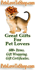 PetsLoveToShop.com has Great Gifts For Pet Lovers