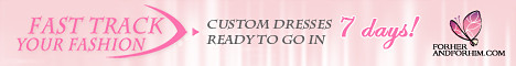 Custom Dress in your choice of colors ready to go in 7 days!