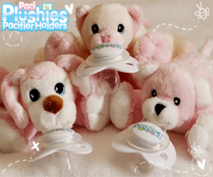 Paci Plushies Pacifier Holders