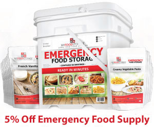 Get 5% off of at MyFoodStorage.com