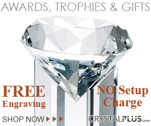 Crystal Plus Personalized Awards and Gifts