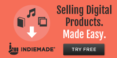IndieMade.com Websites Made Easy to Sell Digital Files