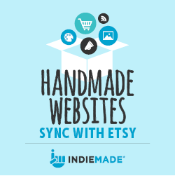 Handmade Websites Sync with Etsy