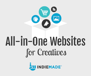 All in One Websites for Creatives