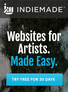 IndieMade.com Websites for Artists Made Easy
