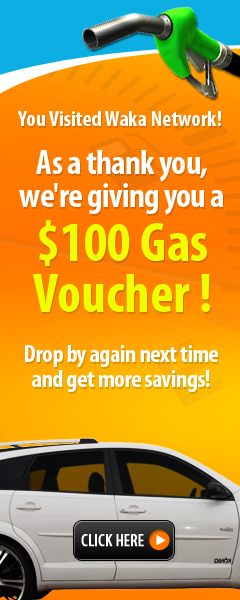 Receive $100 Gas By Visiting Waka Network