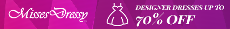 MissesDressy: Designer Dresses up to 70% off