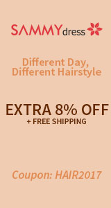 Get Extra 8% OFF with Coupon Code: HAIR2017, Shop Now!