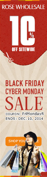 "Black Friday + Cyber Monday Sale! 10% OFF Sitewide with Coupon ""FriMondayR"". (Ends: Dec.10, 2014)"