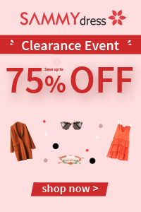 SammyDress discount code - Clearance Sale: Up to 75% OFF, Shop Now!