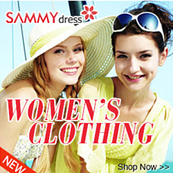 SammyDress.com, Get Latest Fashionable Apparels at Affordable Prices!