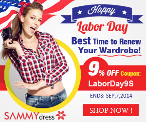 Happy Labor Day! 9% OFF Site-wide Coupon: LaborDay9S. (Ends: Sep,7,2014)