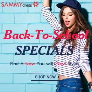 Back-To-School Sale! Find A New You in New Styles at sammydress.com!