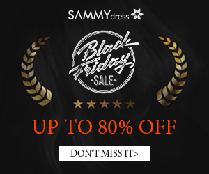 Sammydress with Black Friday coming. Do not crazy? Coming now to pick away!