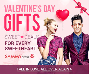 Sammydress Valentine's Day Promotion
