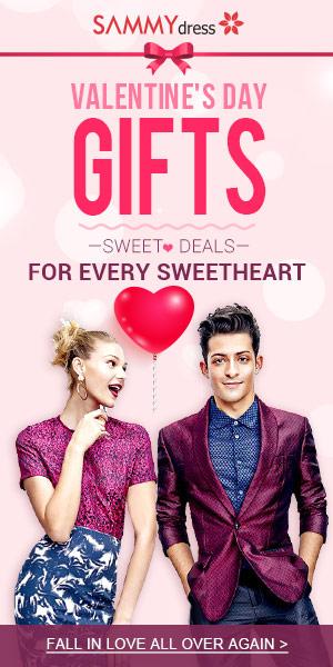 Sammydress Valentine's Day Promotion
