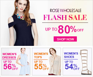 Rosewholesale Flash Sale