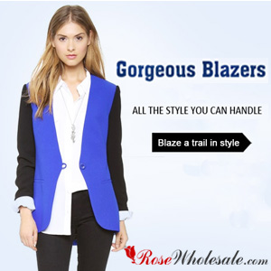 New Arrivals! Massive Women's Blazers with All Style and Color at Rosewholesale!