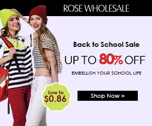 Rosewholesale Back to School Sale. Up to 80% OFF. Embellish your school life.