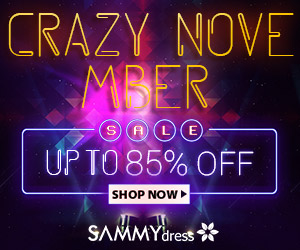 Sammydress Crazy November Sale