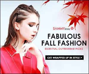 Fabulous Fall Fashion @sammydress.com