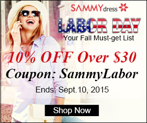 Sammydress Labor Day Sale: Extra 10% OFF $30+ Sitewide