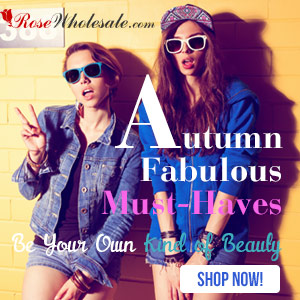 Fall Fashion Trend! Autumn Fabulous Must-Haves at Rosewholesale! Be Your Own Kind of Beauty!