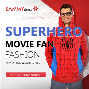 Superhero Fashion T-Shirts @sammydress.com