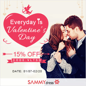 Sammydress Valentine's Day Sale