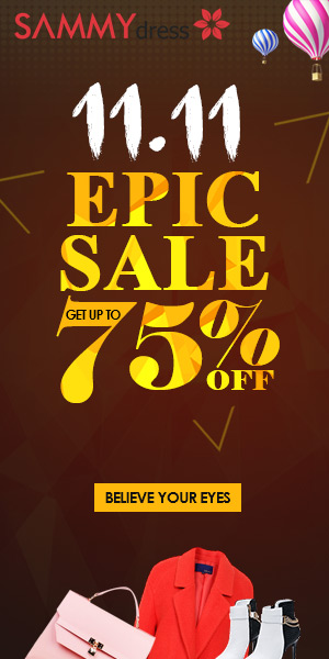 11.11 EPIC Sale: Up to 75% OFF