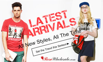 New Arrivals! Latest Fashion! New Look! Choose Your Style!